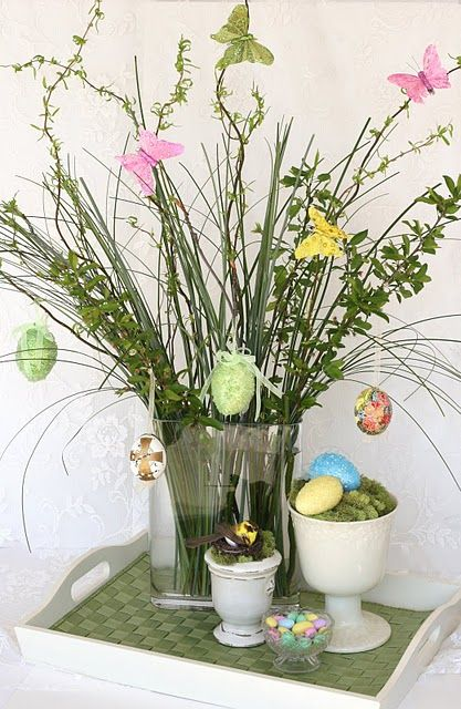 I'll be doing this as part of my easter decor.