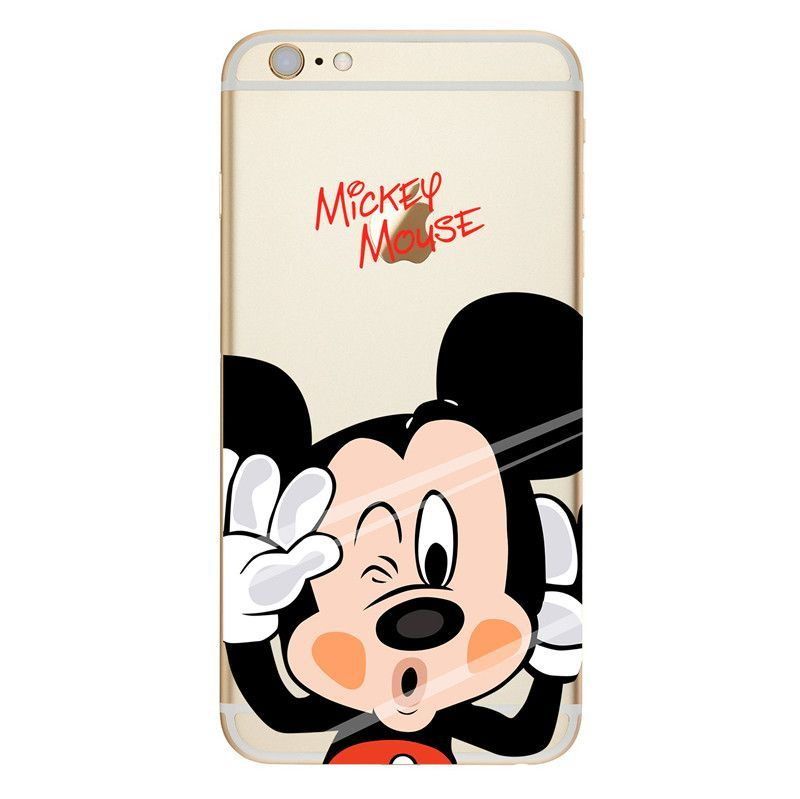 Coque Mickey Minnie Case Soft TPU For iPhone 4S 5C 5 5S SE 6 6S 7 Plus for  Samsung Galaxy S5 S6 S7 Edge J1 J5 A3 A5 2016 Note 7 0eecc513c9b7