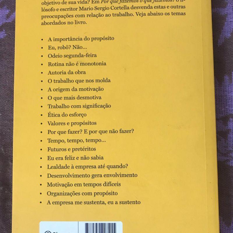 Livro por Que Fazemos O Que Fazemos? | Livro Editora Planeta Usado 41296671 | enjoei