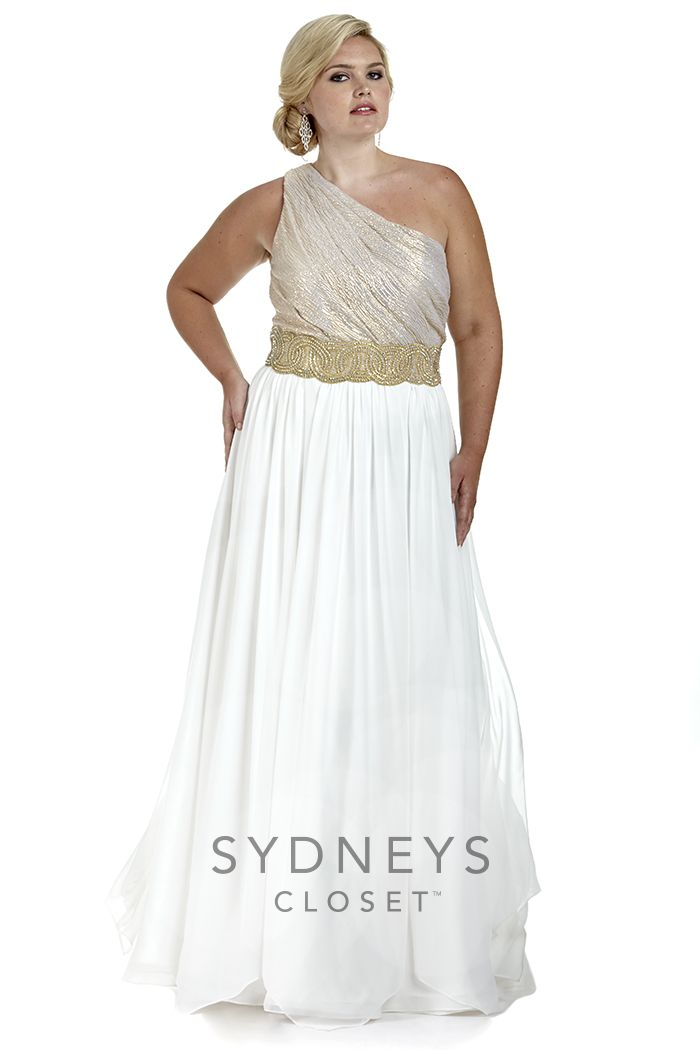 Feeling #Greek for #Prom2016? Then this gorgeous one shoulder dress ...