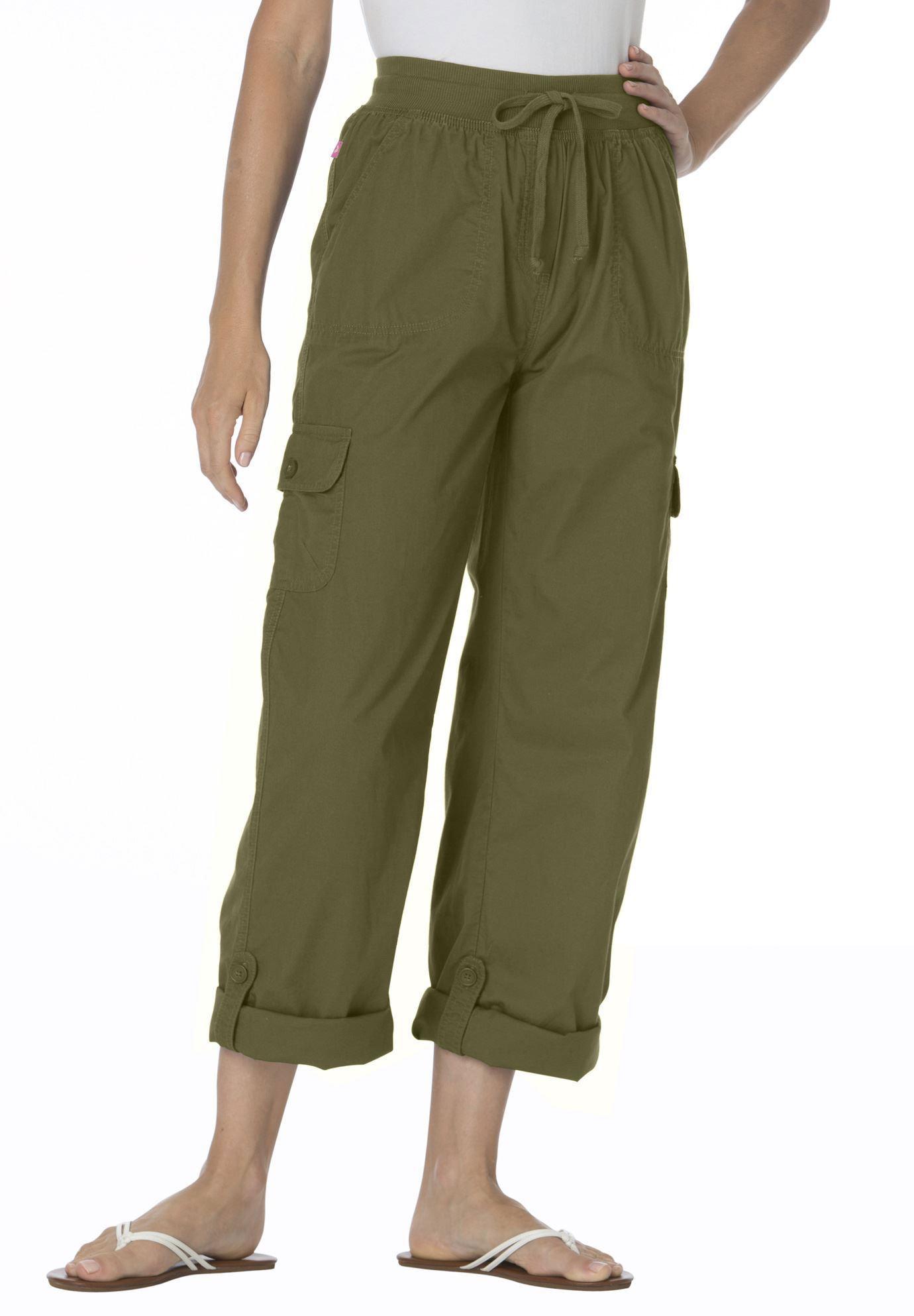 b81df6d1e61 Petite convertible cargo pants. Petite convertible cargo pants - Women s  Plus Size Clothing