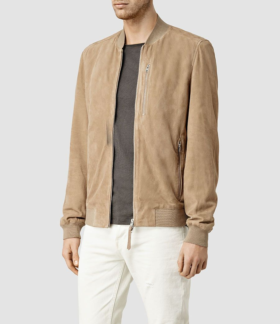 c54f24d54 Kemble Suede Bomber Jacket | Clothes | Bomber jacket, Jackets, Soft ...