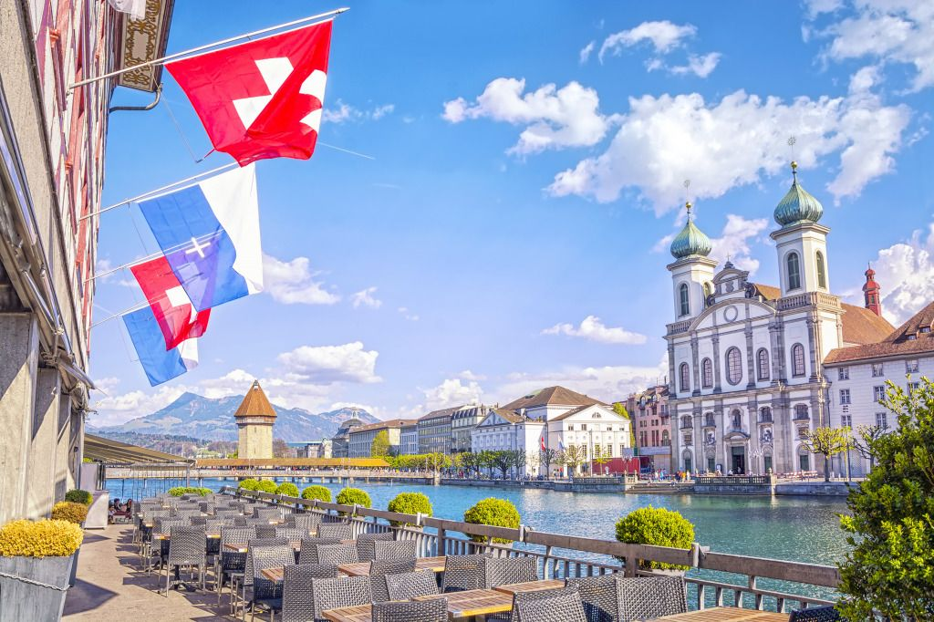 Historic City Center Of Lucerne Switzerland Jigsaw Puzzle In Puzzle Of The Day Puzzles On Thejigsawpuzzles Co Public University Mining Pool Real Estate Buying