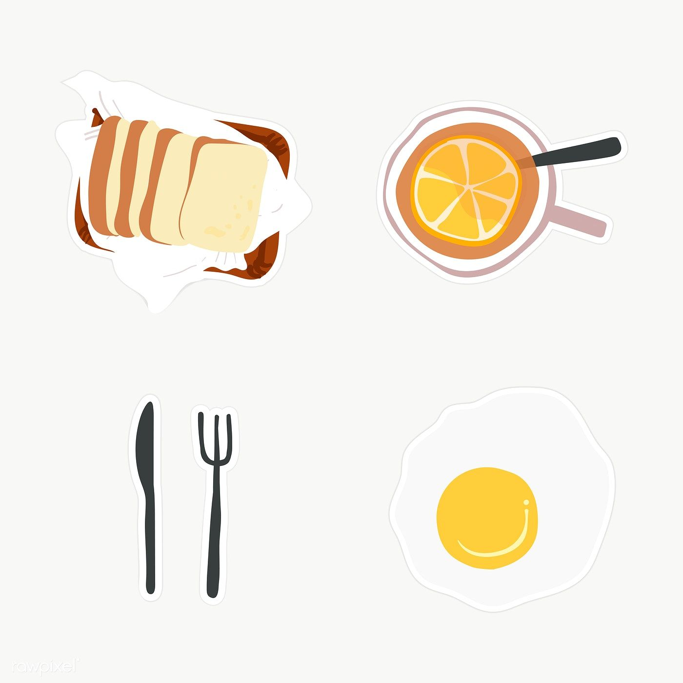Download Premium Png Of Fresh Delicious Breakfast Set Transparent Png