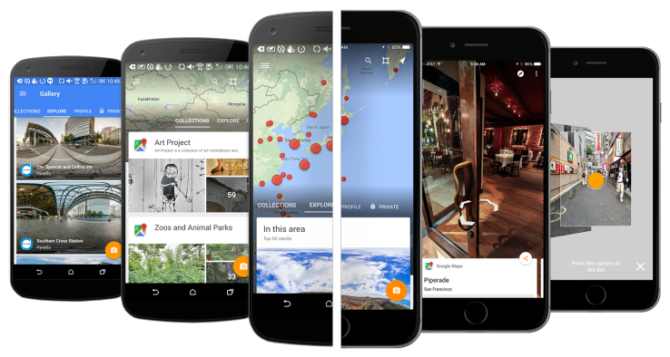 Google's New Street View App Lets You Browse 360Degree