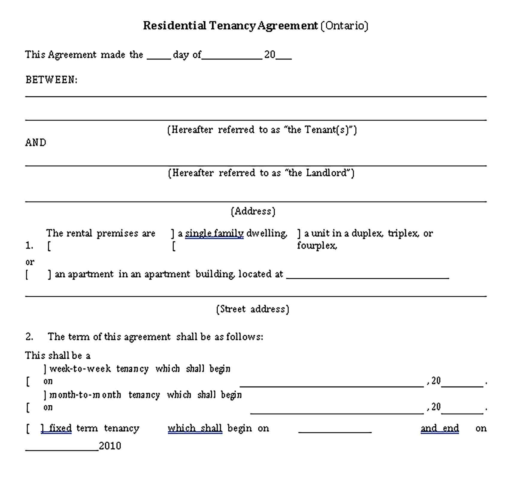 Sample Private Lease Agreement Template Lease Agreement Lease Agreement