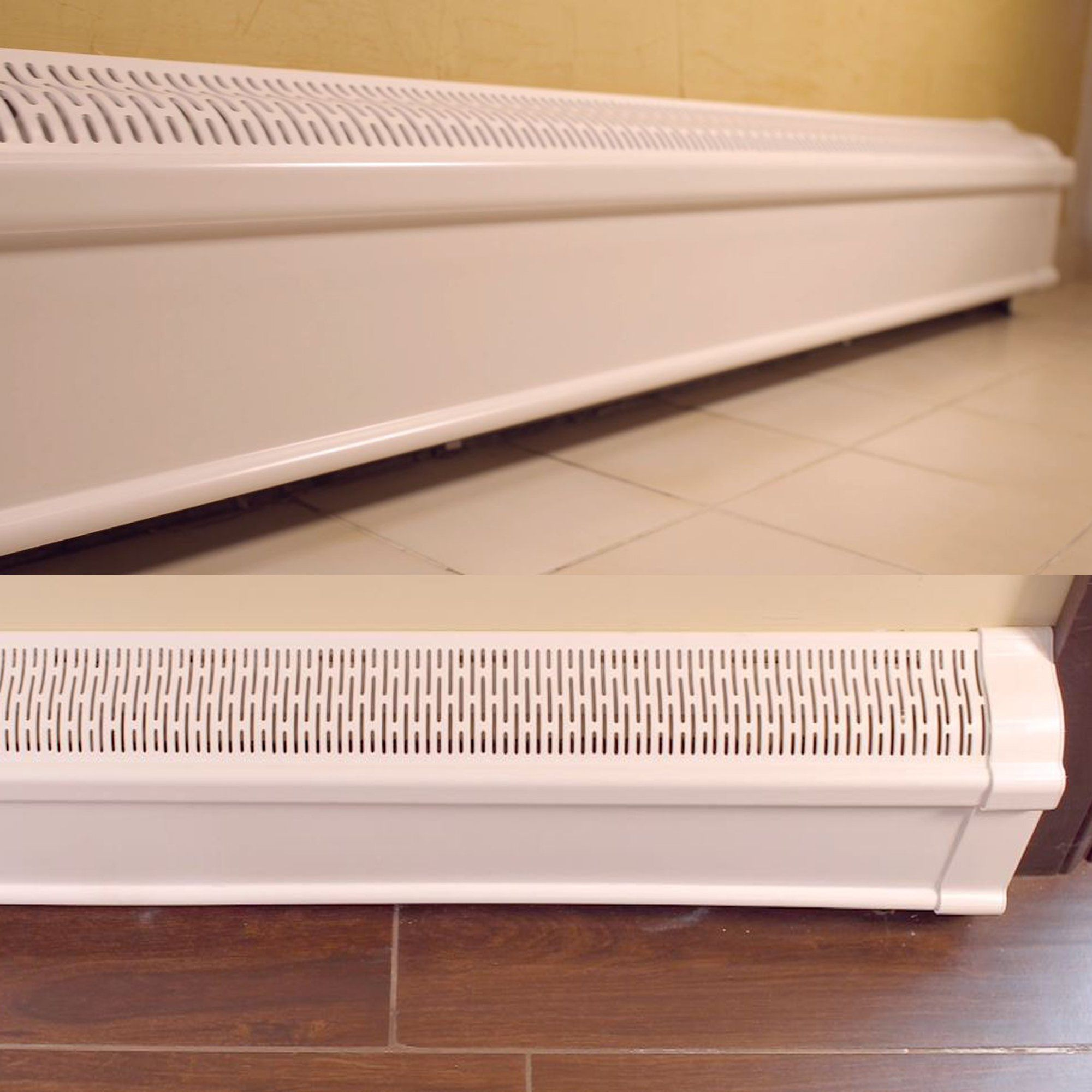 Baseboard Heater Cover Complete Set With Right And Left End Caps
