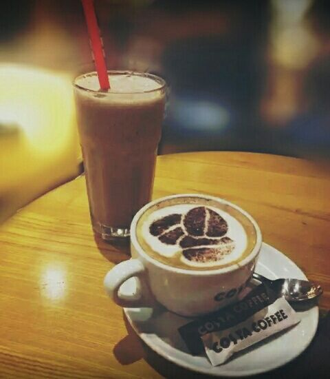 Imagen de cafe, chocolate, and coffee shop