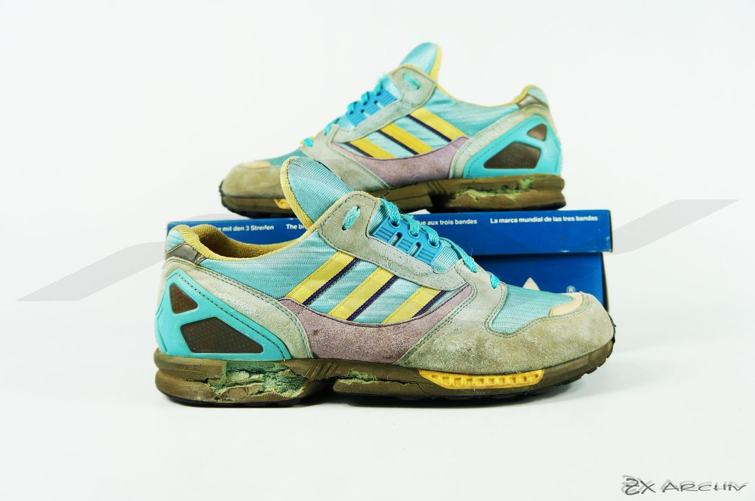 4a370785f Adidas ZX 8000 C. Article  033476. Release  1989. Made in West Germany.   adidasvintage  adidaszx8000