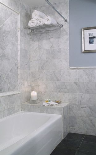 Decor Tiles Watford Captivating Carrara Marble Shower Design Pictures Remodel Decor And Ideas Decorating Inspiration