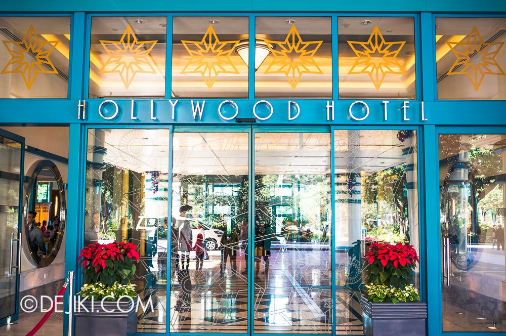 Disney S Hollywood Hotel Exteriors And Entrance
