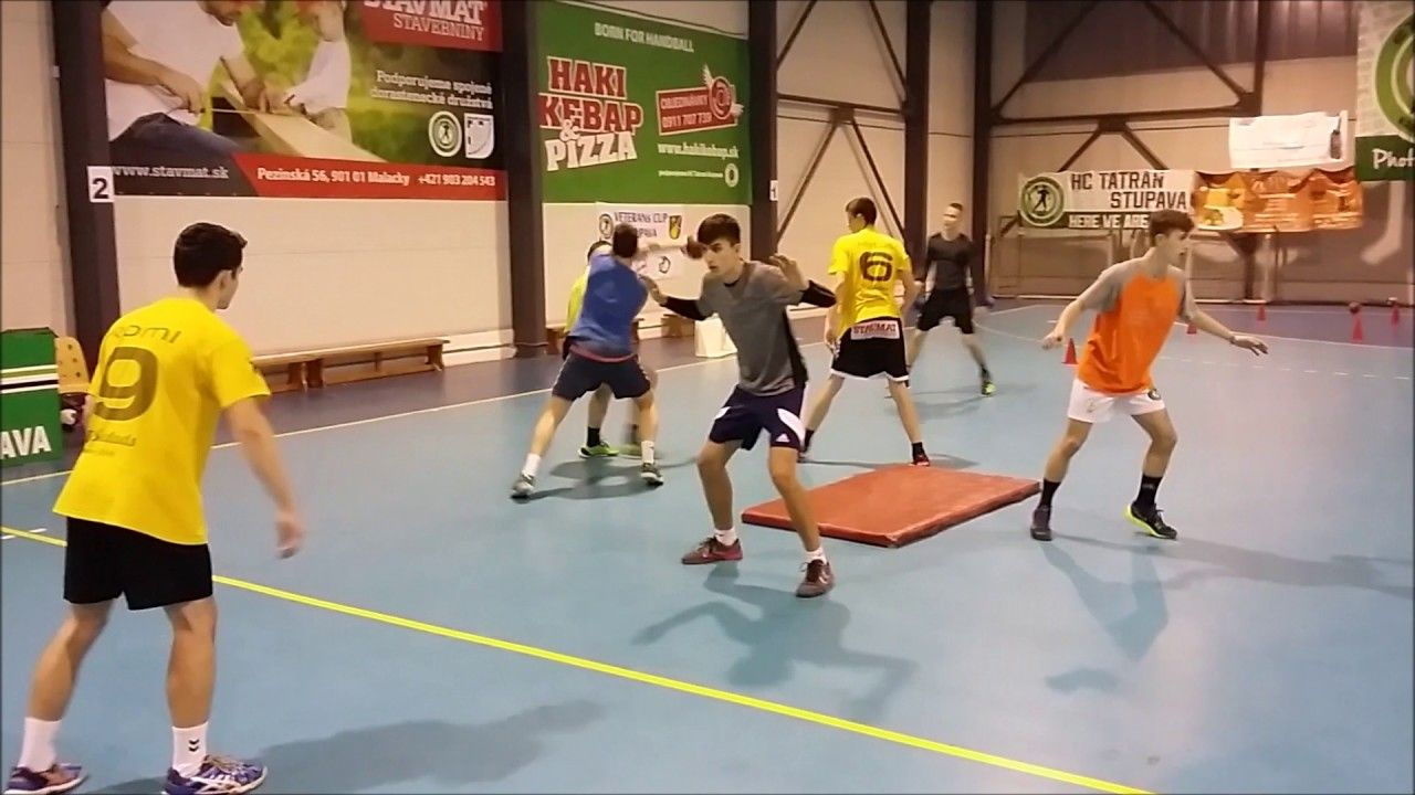 Handball Fitness And Defense Training U15 U17 Pilka Reczna