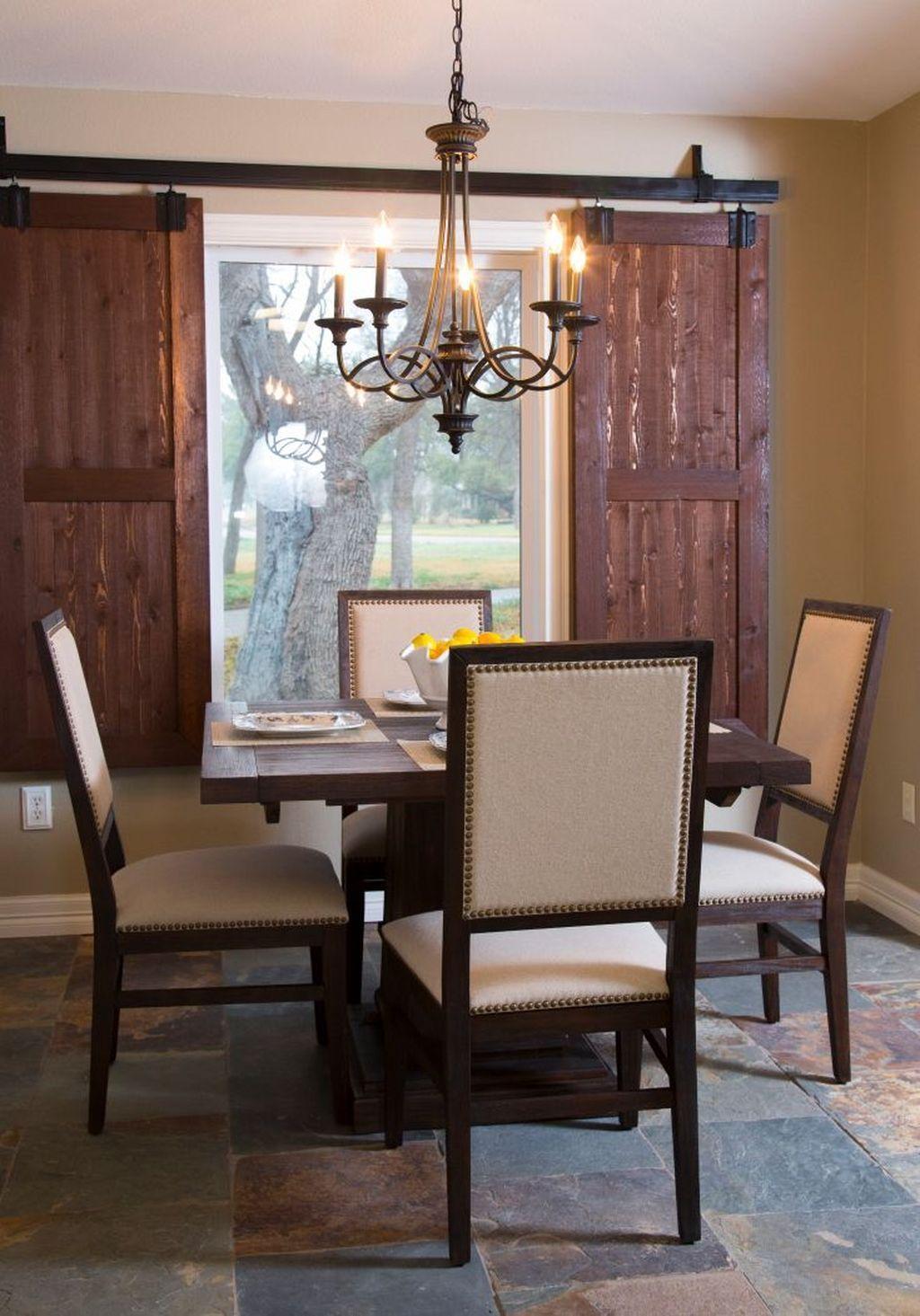 23 Barn Door Window Covering Ideas   Home