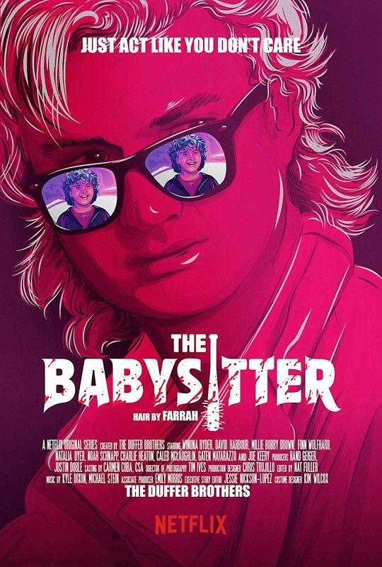 Stranger Things / Steve & Dustin/ The Baby Sitter Sticker by colorcollective