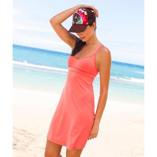 9b500832ae Coastline Swim Dress | Athleta - in Coral | my own little style ...