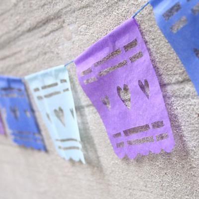 DIY Papel Picado for Cinco De Mayo