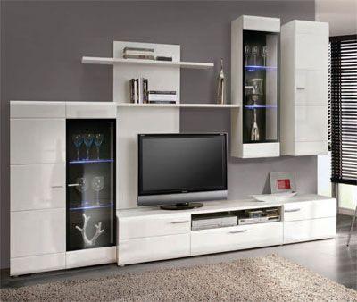 Mueble de Salón comedor en color blanco de 286 cms. modelo COLOMA-2 ...