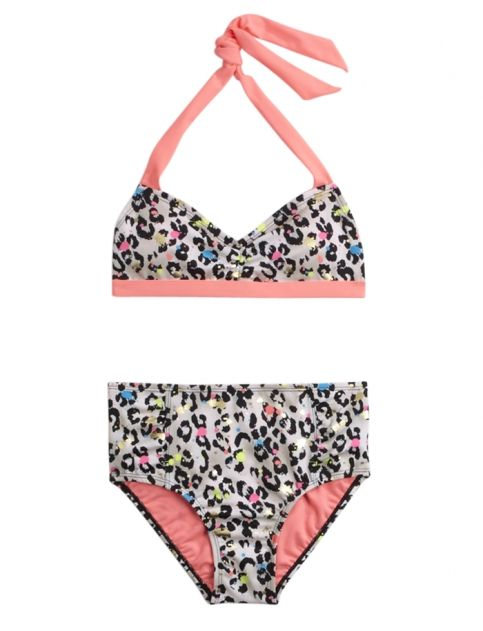 ed72cfa05d Cheetah Print Bikini Swimsuit | Girls Swimsuits Swim | Shop Justice ...