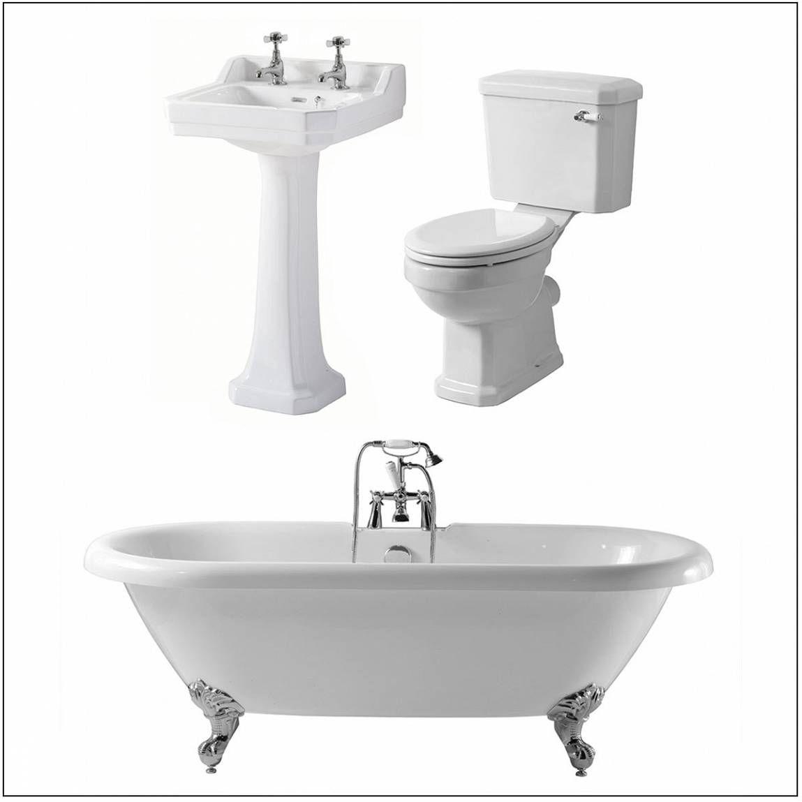 Oxford Traditional Family Bathroom Bundle   heritage bathroom ...