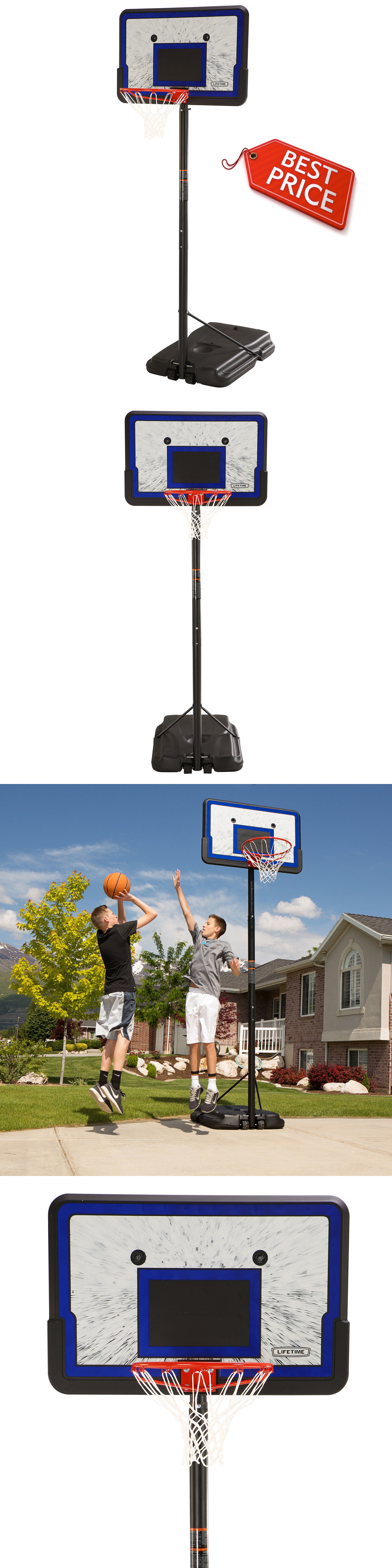 backboard systems 21196 adjustable height basketball system 1221