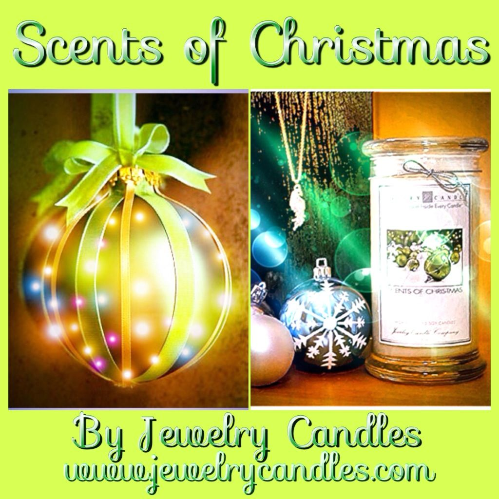 Scents of Christmas by Jewelry Candles!  JewelryCandles.com