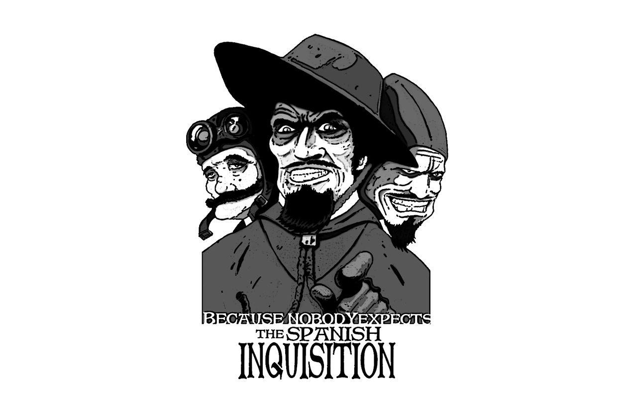 The Spanish Inquisition Monty Python Pinterest Spanish Inquisition