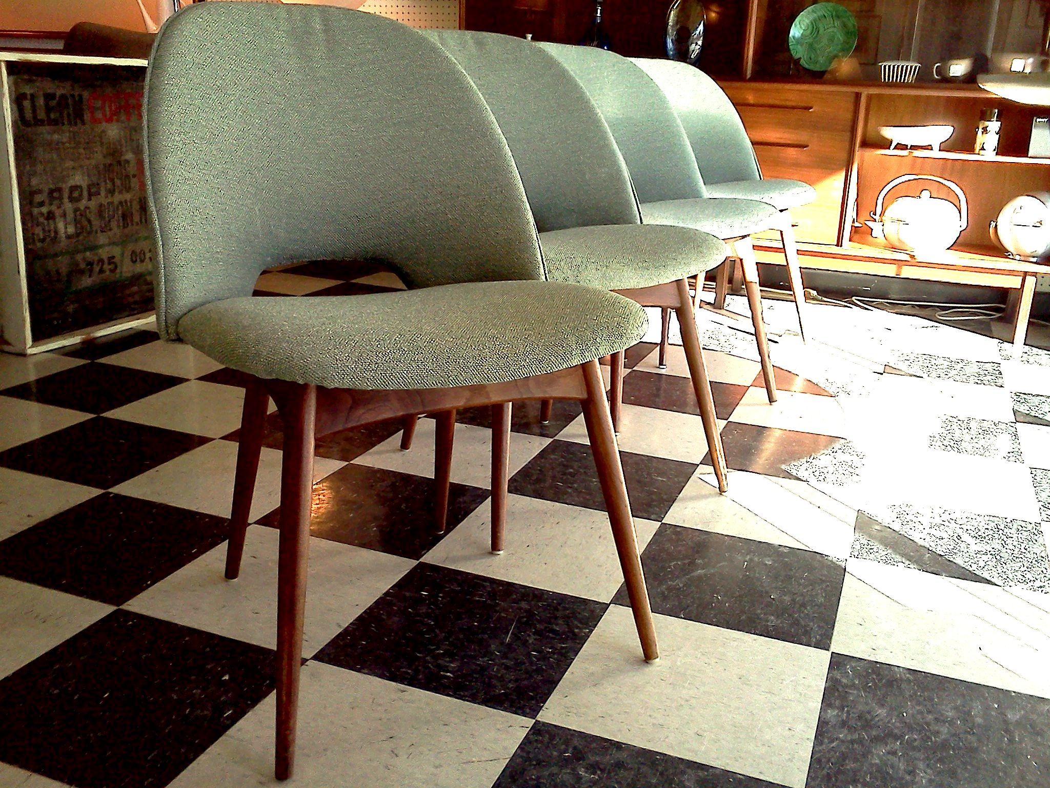 Mid Century Modern Furniture Houston mid century modern furniture images |  dining chairs (4) | cool