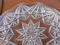 Sternchen Kuchenplatte Tablett Schale shabby chic