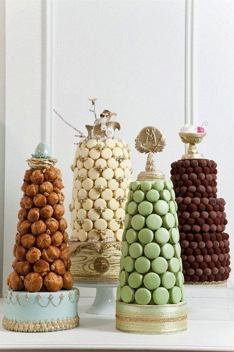 macarons cakes