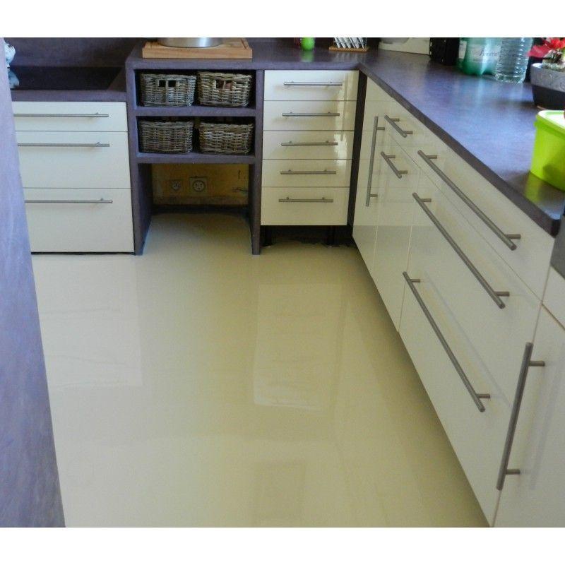 Peinture epoxy sol cuisine salon salle de bains Laque epoxy de