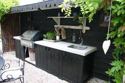 Buitenkeuken salon extérieur kitchens gardens and