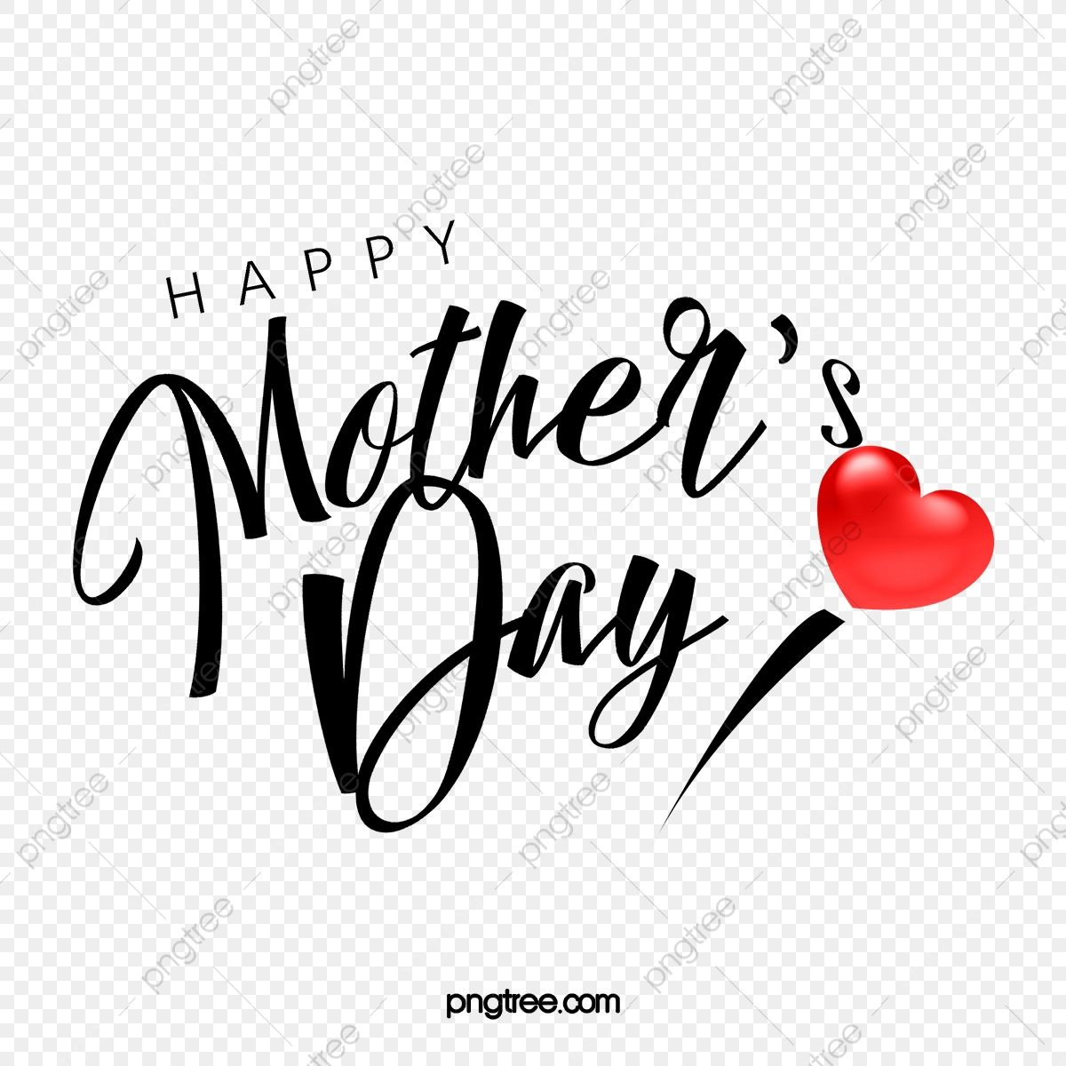 Red Love Happy Mother S Day Greetings Mothers Day Art Words Of Mothers Day Holiday Art Word Png Transparent Clipart Image And Psd File For Free Download In 2021 Happy Mothers