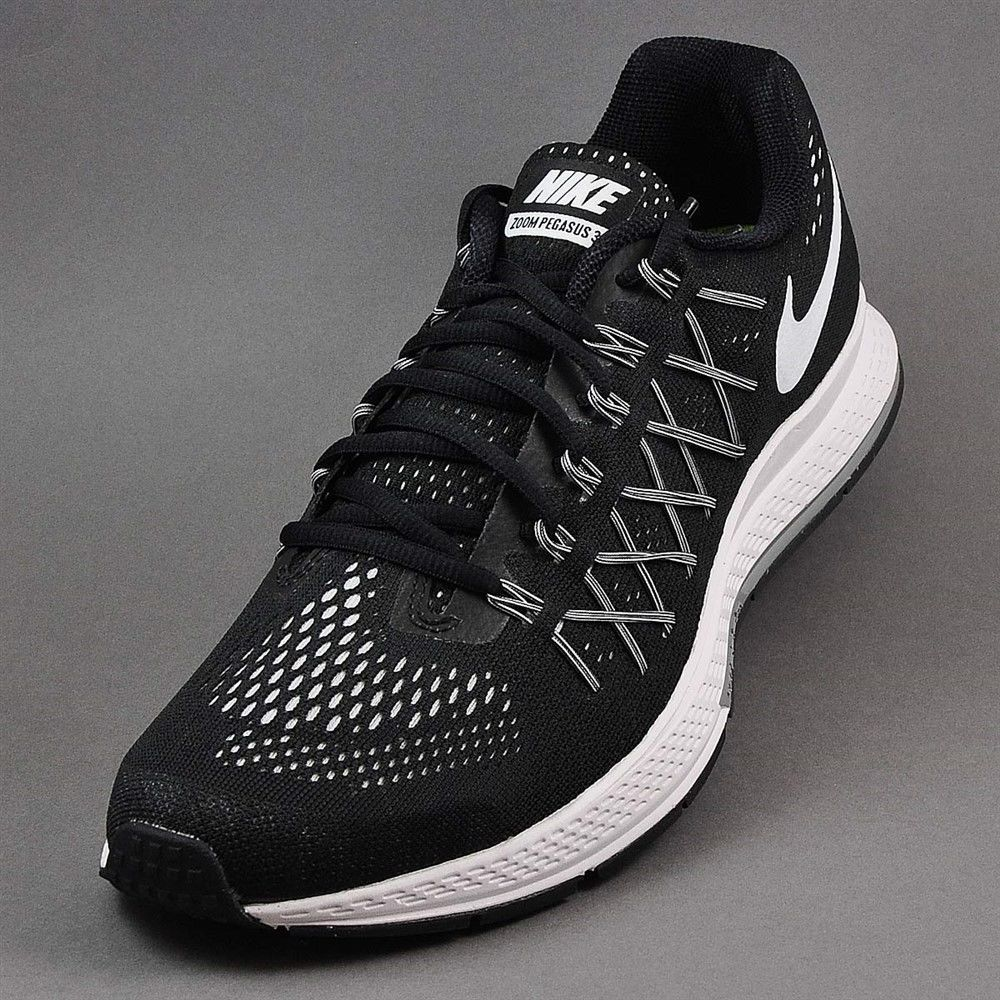 sale retailer 3a327 caf8c Nike Air Zoom Pegasus 32 Black White Platinum 749340-001 ...
