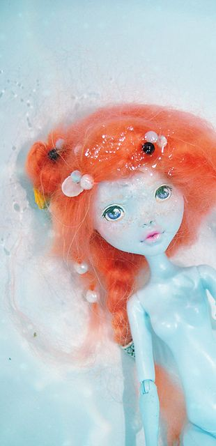 Monster High Lagoona Blue repaint | Flickr - Photo Sharing!