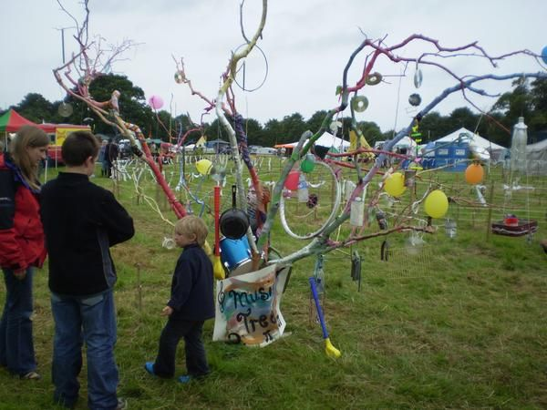 Recycled Music Tree