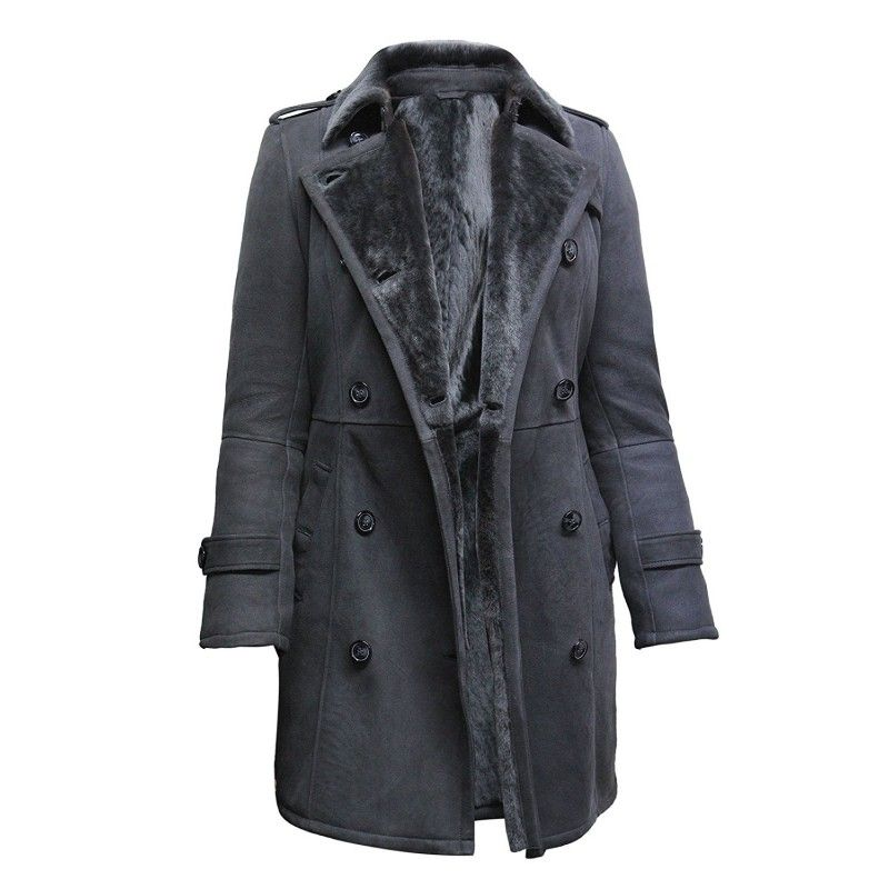 Sheepskin jackets are the leather wraps made up of processed hide ...