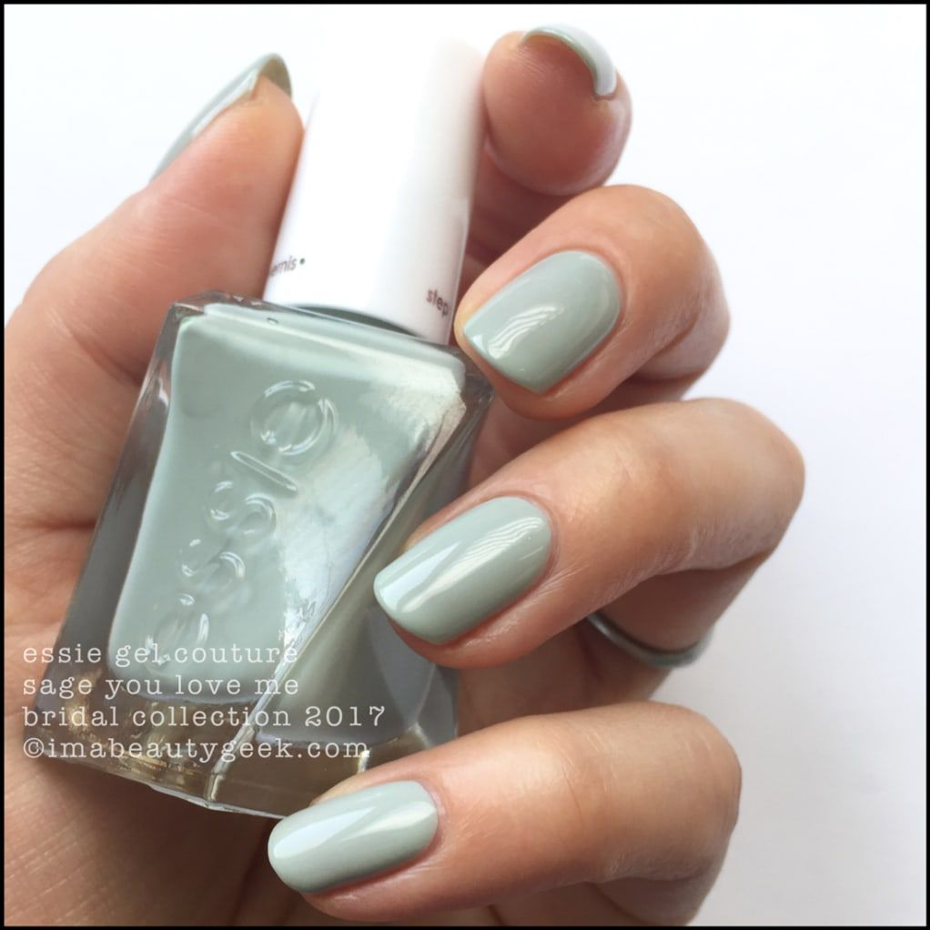 ESSIE BRIDAL GEL COUTURE SWATCHES u REVIEW Beautygeeks