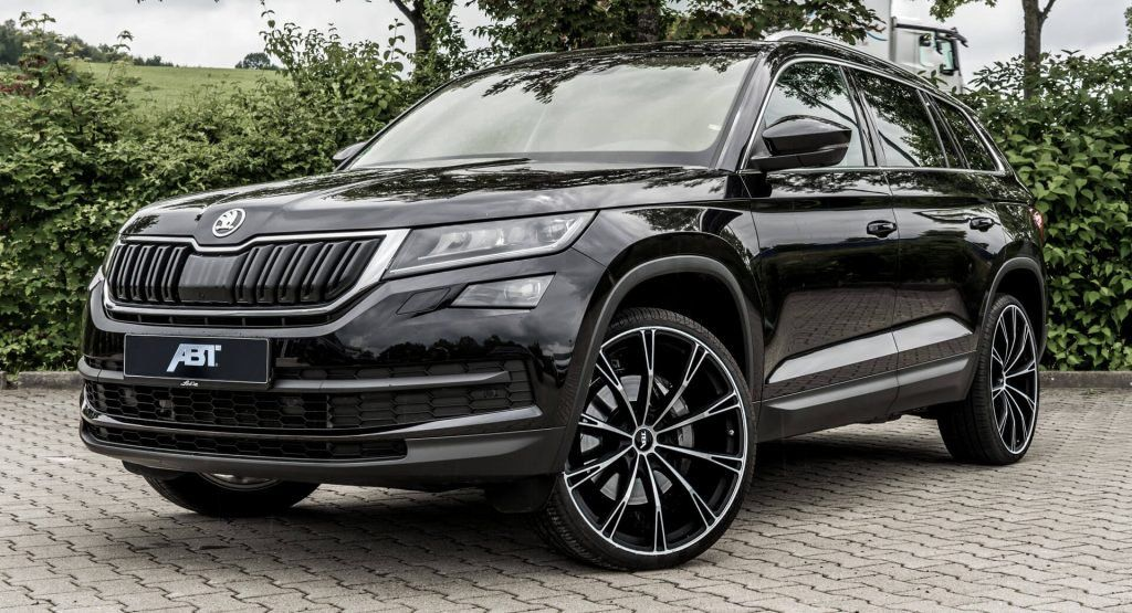 213 Hp Skoda Kodiaq By Abt Is No Rs But It Ll Have To Do If You