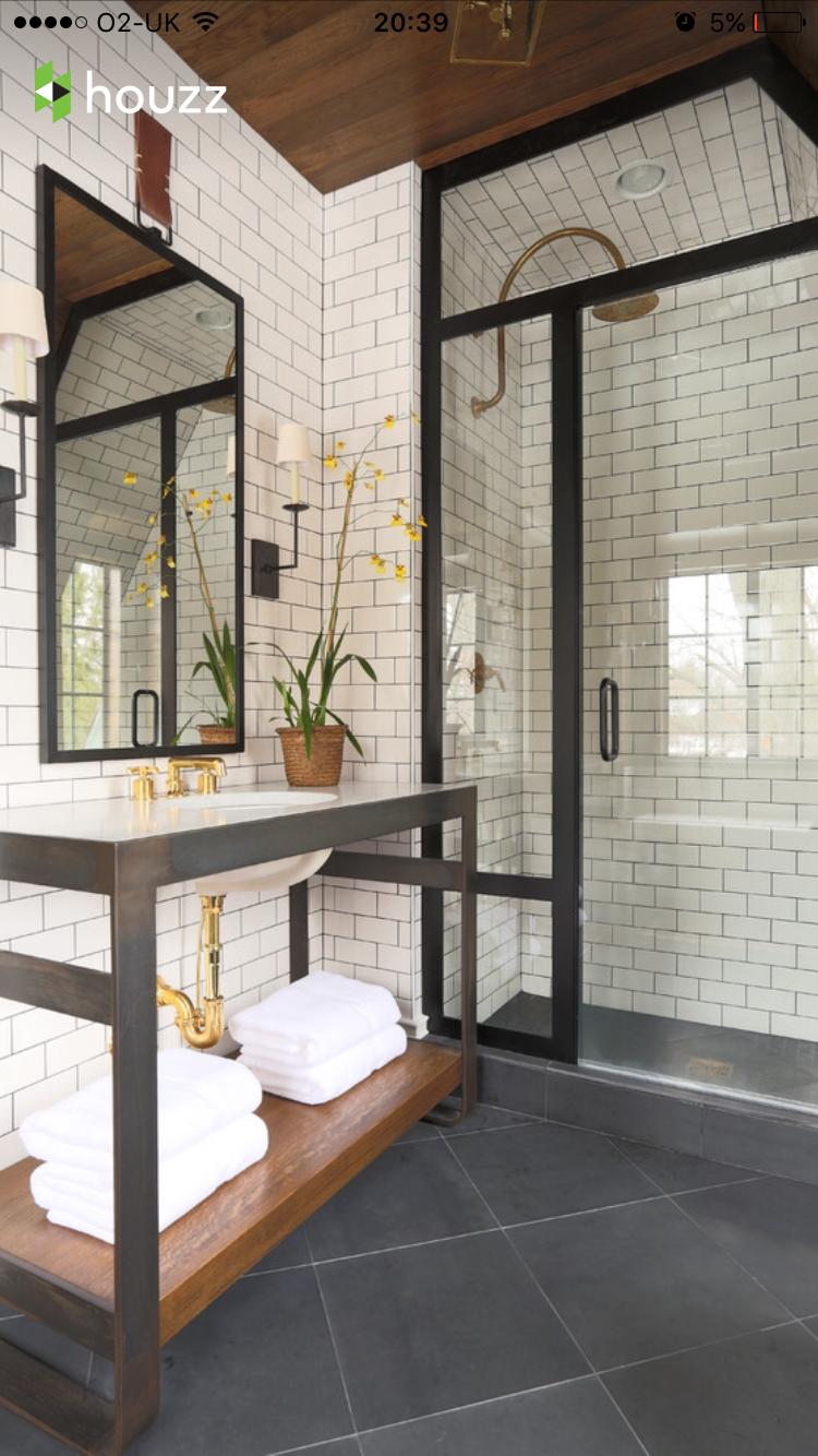 Meuble Salle De Bain Bambou Leroy Merlin ~  Pingl Par Simon Rogowski Sur Dream Home Ideas Pinterest Salle