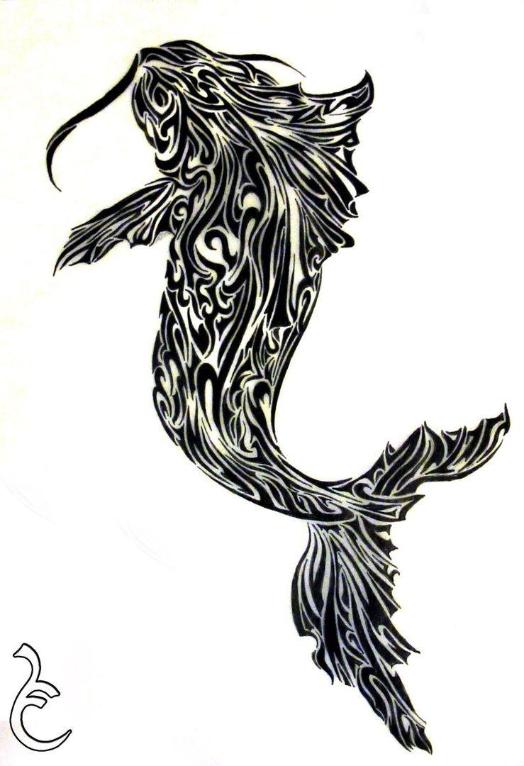 Tribal Koi Fish Tattoo Designs Fish Tattoo Image Galleries Imagekb Koi Fish Tattoo Tattoo Images Tribal Tattoo Designs