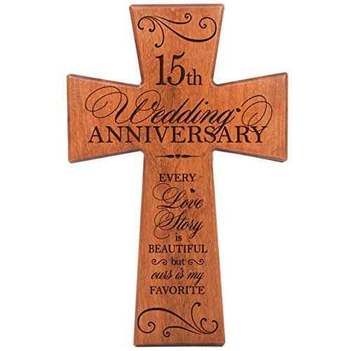 38 Year Wedding Anniversary Gift: 15th Wedding Anniversary Gifts For Him Cherry Wood Wall