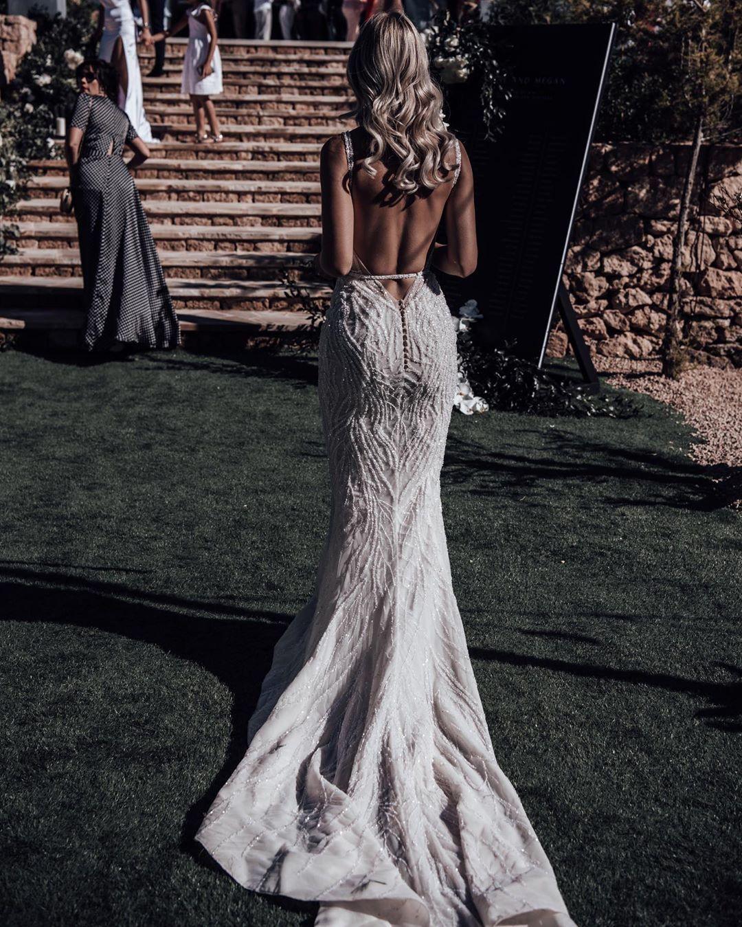 "Megan Lineker on Instagram ""When your dress dreams come"