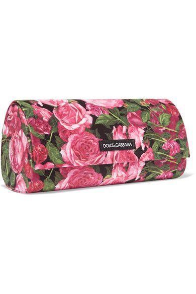 699f2abca7 Dolce   Gabbana - Cat-eye Floral-print Acetate Sunglasses - Pink - One
