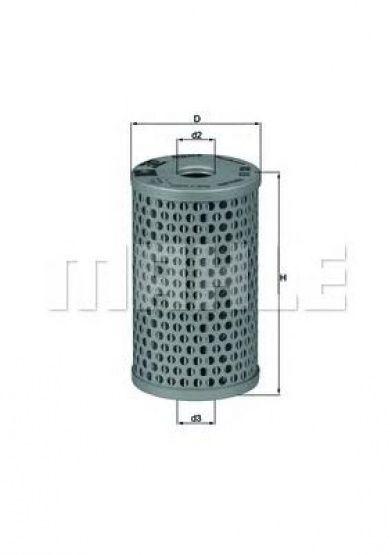 хидравличен филтър, управление KNECHT HX 15