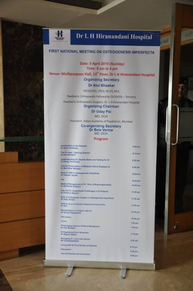 7 Best First National Meeting on Osteogenesis Imperfecta- Dr