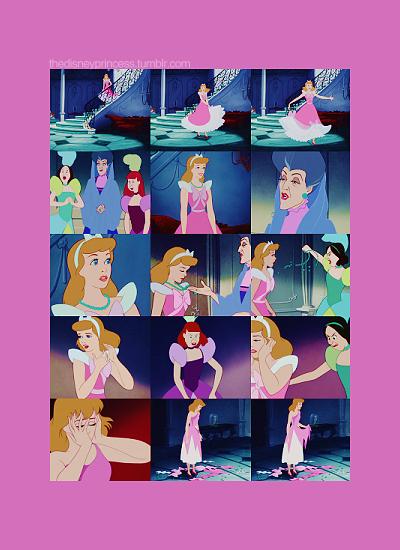 Cinderella's heartbreak.