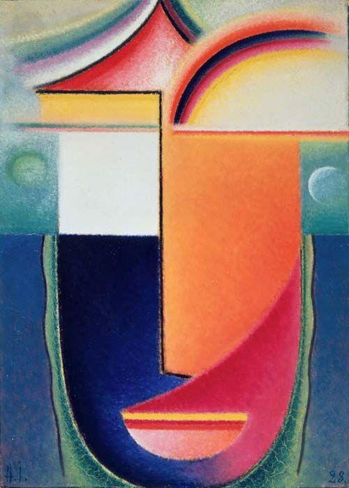 alexej von jawlensky deutsche kunstler blauer reiter expressionismus kunst abstrakt acryl kandinsky abstrakte