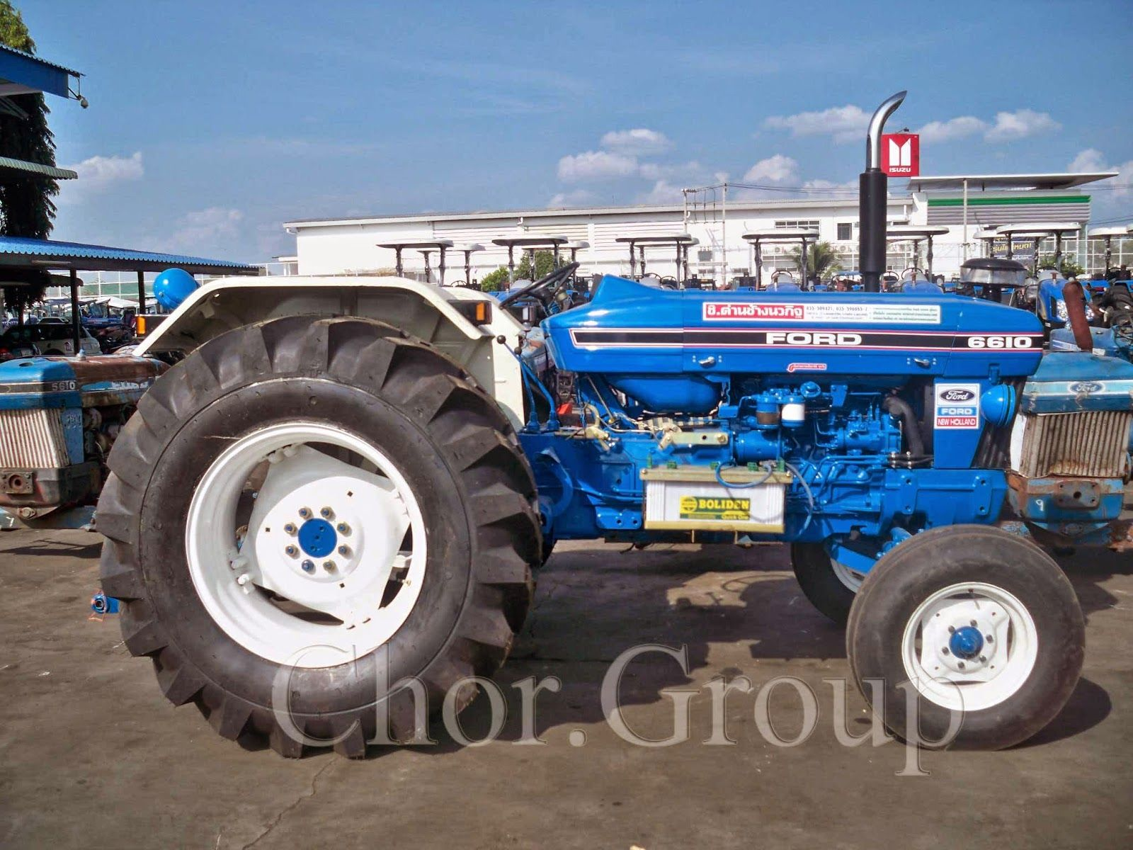 Group: รถไถ Ford 6610 Tractor,