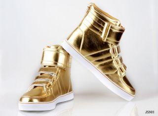 Radii 420 Top Metallic Gold Shoes http   www.hip-hop- cc43e7a4f39b