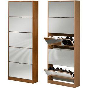 Tvilum Springfield Shoe Cabinet, Beech from Walmart look like the ...